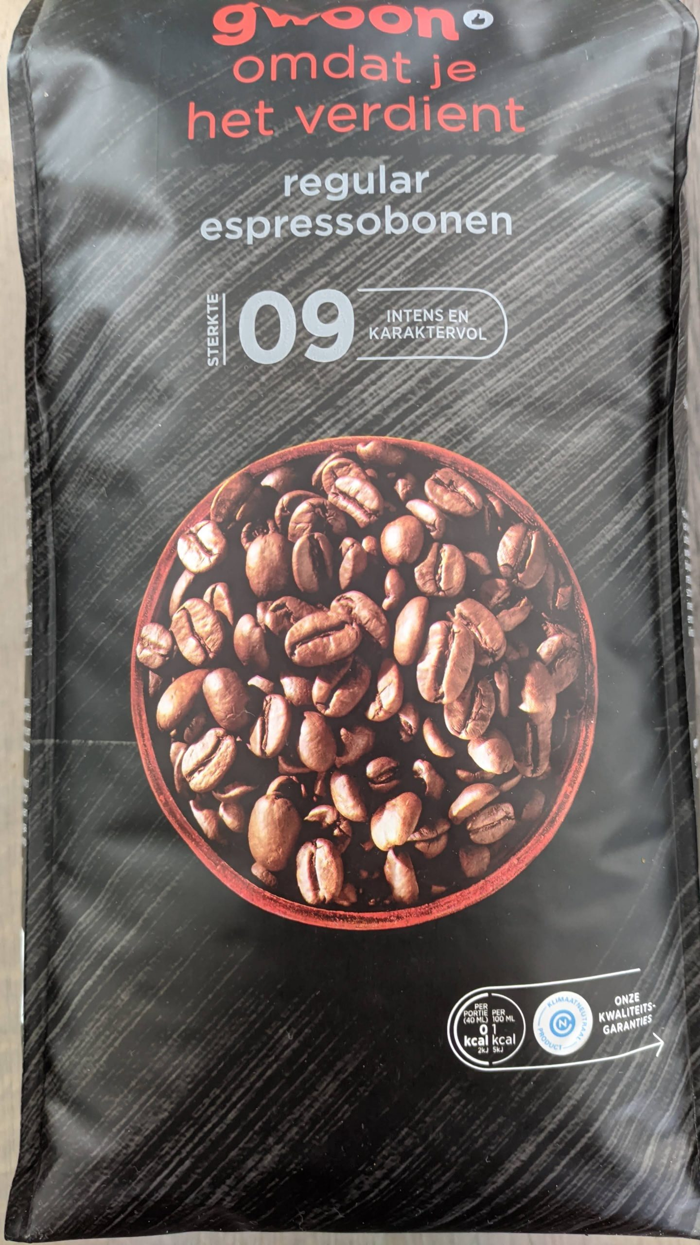 G'woon Regular Espressobonen